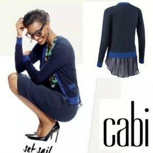 CAbi Michelle Cardigan Size M